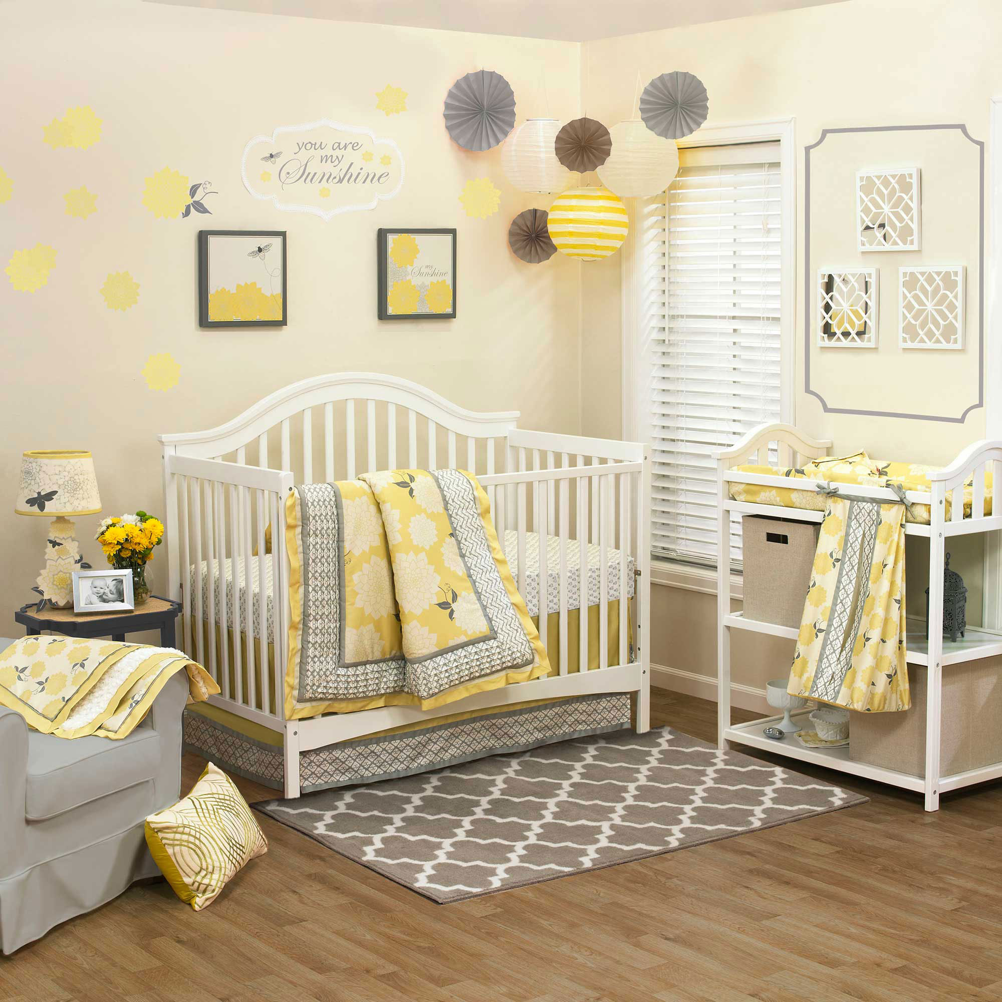Baby Girl Nursery Ideas: 10 Pretty Examples